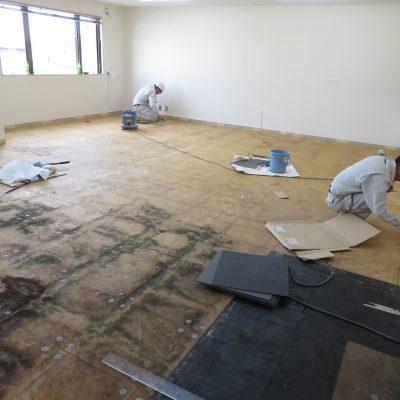 小山市 Aビル 原状回復工事 家具撤去、フローリング(床)、クロス(壁紙)など  - リフォームnozawa - 野沢電気 - ブログ
